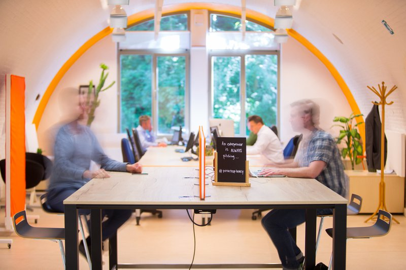 Full Focus @ Coworkingspace 'BLWRK' in Edegem